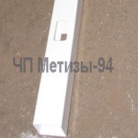 Промежуточный столбик для забора из плоского штакетника