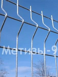 Оцинкованый проволочный забор из проволочных панелей с ребром жесткости